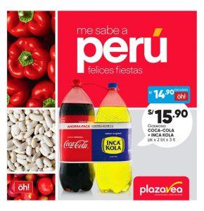 Catalogo Plaza Vea Me sabe a Perú - Felices Fiestas Patrias